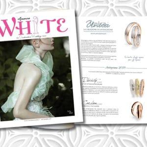 fedi UNICA white sposa