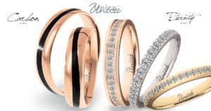 fedi UNICA carbonio eternity diamanti oro