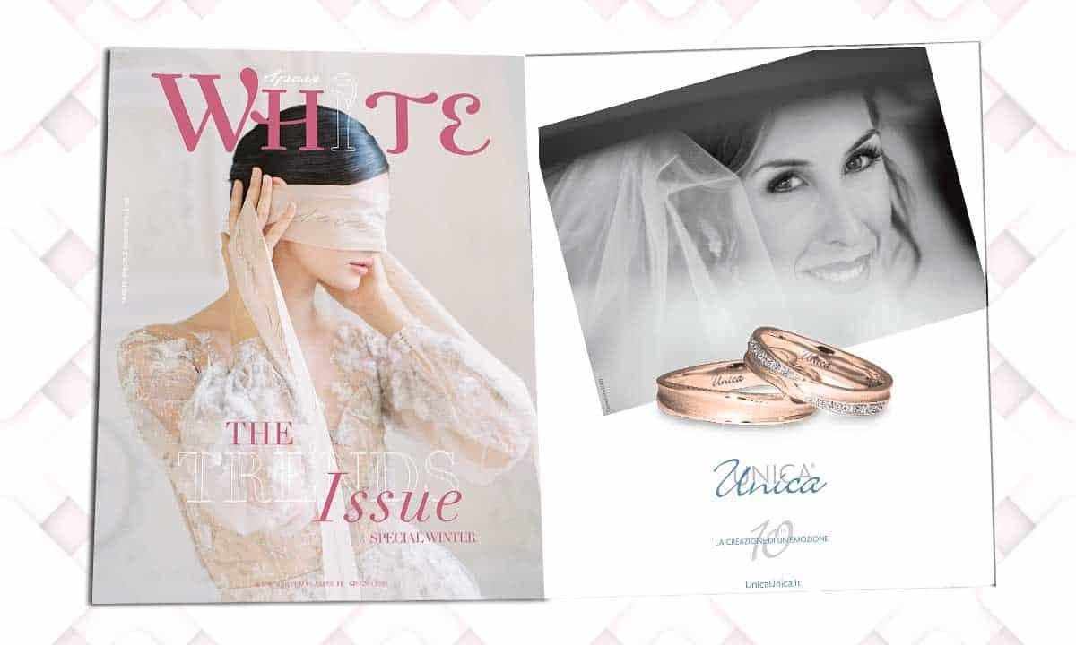 White Sposa Giugno 2020 Fedi
