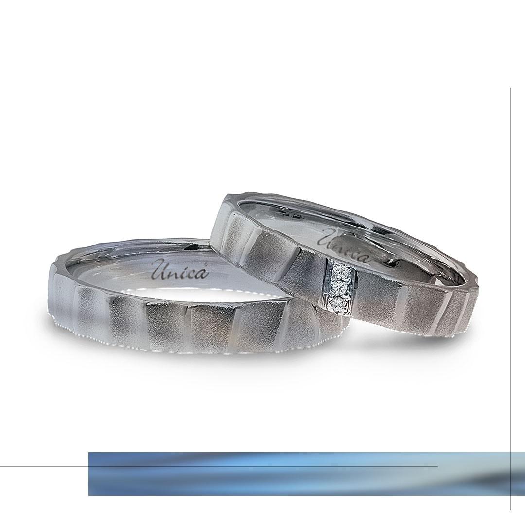 Fedi in titanio by UNICA®