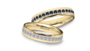 Eternitiy diamanti bianchi e neri